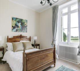 Double room at Chateau de la Vigne, Loire Valley