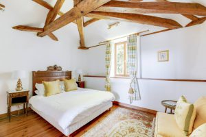 Top Floor King bedroom at Chateau de la Vigne, Loire Valley